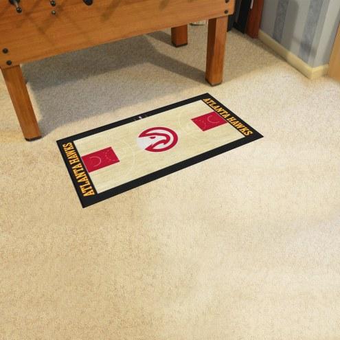 Atlanta Hawks NBA Court Runner Rug