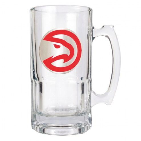 Atlanta Hawks NBA 1 Liter Glass Macho Mug