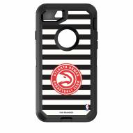 Atlanta Hawks OtterBox iPhone 8/7 Defender Stripes Case