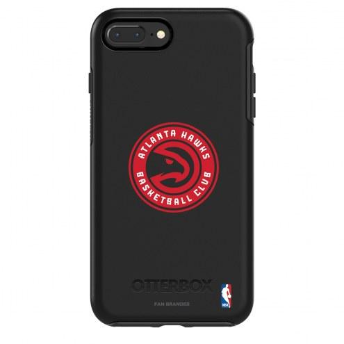 Atlanta Hawks OtterBox iPhone 8/7 Symmetry Black Case