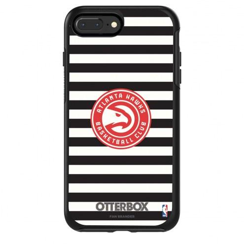 Atlanta Hawks OtterBox iPhone 8/7 Symmetry Stripes Case
