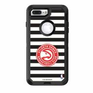 Atlanta Hawks OtterBox iPhone 8 Plus/7 Plus Defender Stripes Case