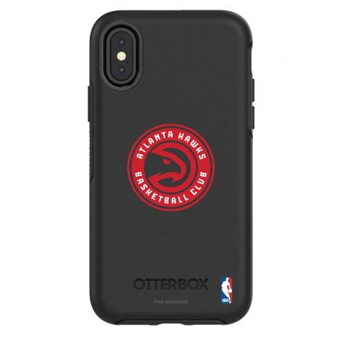 Atlanta Hawks OtterBox iPhone X/Xs Symmetry Black Case