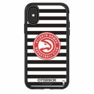 Atlanta Hawks OtterBox iPhone X/Xs Symmetry Stripes Case