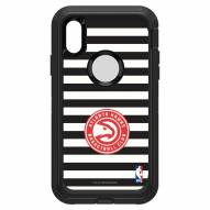Atlanta Hawks OtterBox iPhone XR Defender Stripes Case