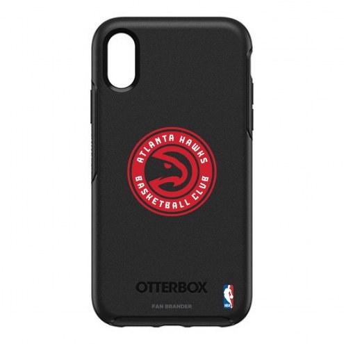 Atlanta Hawks OtterBox iPhone XR Symmetry Black Case