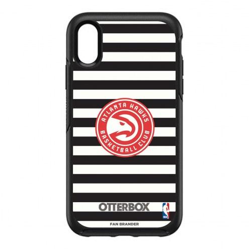 Atlanta Hawks OtterBox iPhone XR Symmetry Stripes Case