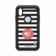 Atlanta Hawks OtterBox iPhone XS Max Defender Stripes Case