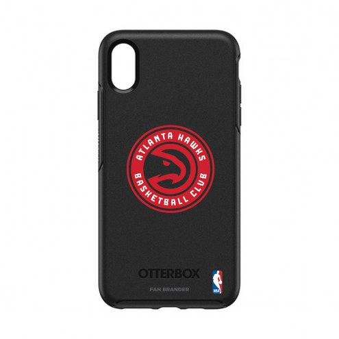 Atlanta Hawks OtterBox iPhone XS Max Symmetry Black Case