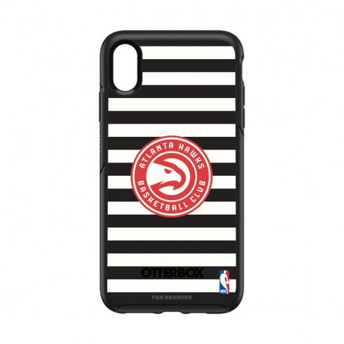 Atlanta Hawks OtterBox iPhone XS Max Symmetry Stripes Case