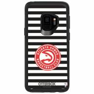 Atlanta Hawks OtterBox Samsung Galaxy S9 Symmetry Stripes Case
