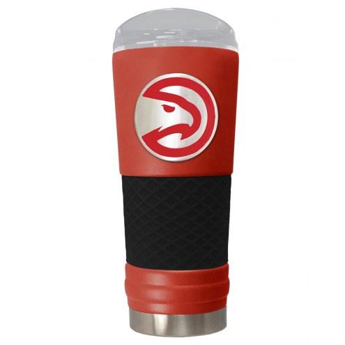 Atlanta Hawks Red 24 oz. Powder Coated Draft Tumbler