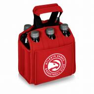Atlanta Hawks Red Six Pack Cooler Tote