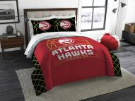 Atlanta Hawks Reverse Slam Full/Queen Comforter Set