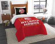 Atlanta Hawks Reverse Slam Twin Comforter Set