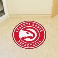 Atlanta Hawks Rounded Mat