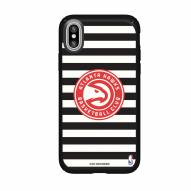 Atlanta Hawks Speck iPhone XS Max Presidio Pro Stripes Case