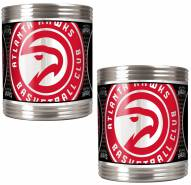 Atlanta Hawks Stainless Steel Hi-Def Coozie Set