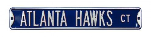 Atlanta Hawks Street Sign
