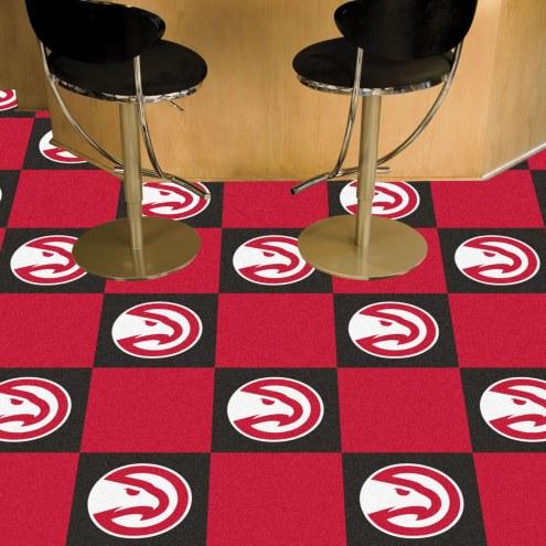 Atlanta Hawks Team Carpet Tiles