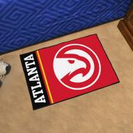Atlanta Hawks Uniform Inspired Starter Rug