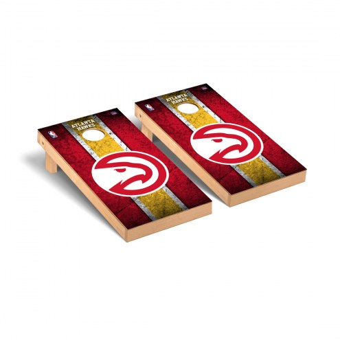 Atlanta Hawks Vintage Cornhole Game Set