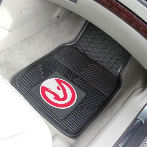 Atlanta Hawks Vinyl 2-Piece Car Floor Mats