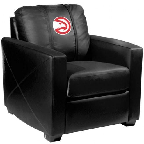 Atlanta Hawks XZipit Silver Club Chair