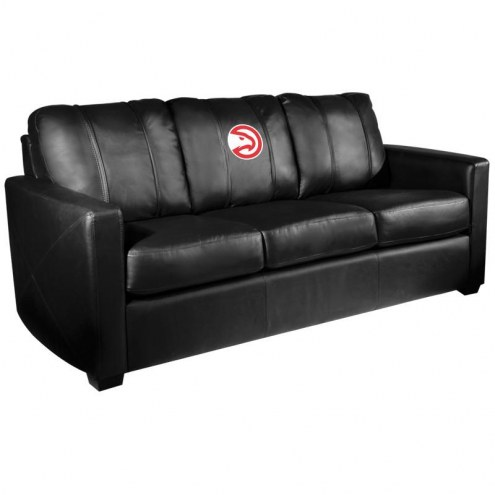 Atlanta Hawks XZipit Silver Sofa