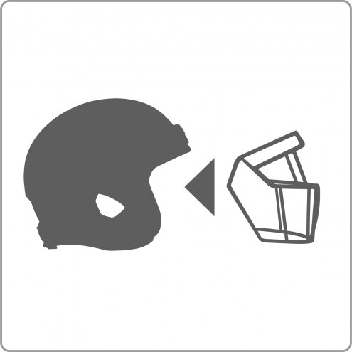 Attach Facemask and Chinstrap to Purchased Helmet