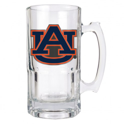 Auburn Tigers College 1 Liter Glass Macho Mug