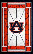 """Auburn Tigers 11"""" x 19"""" Stained Glass Sign"""