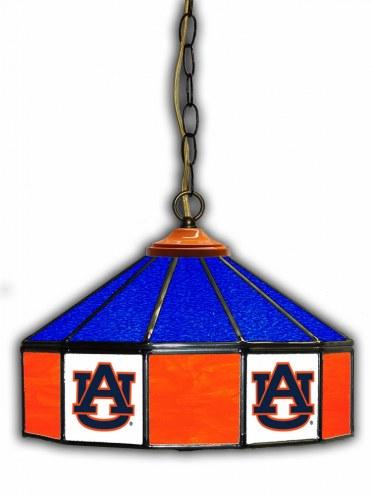 """Auburn Tigers 14"""" Glass Pub Lamp"""
