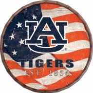 """Auburn Tigers 16"""" Flag Barrel Top"""