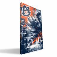 """Auburn Tigers 16"""" x 24"""" Spirit Canvas Print"""