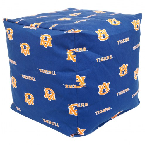 "Auburn Tigers 18"" x 18"" Cube Cushion"