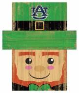 "Auburn Tigers 19"" x 16"" Leprechaun Head"