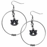 """Auburn Tigers 2"""" Hoop Earrings"""