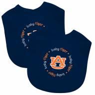 Auburn Tigers 2-Pack Baby Bibs