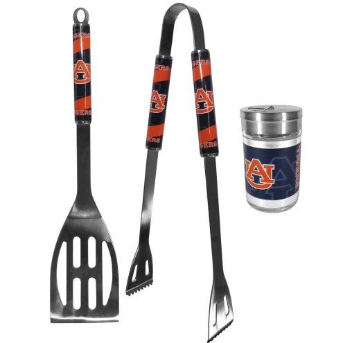 Auburn Tigers 2 Piece BBQ Set with Season Shaker
