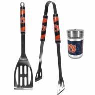 Auburn Tigers 2 Piece BBQ Set with Season Shaker