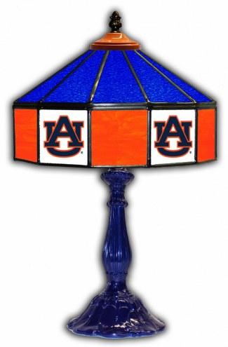 "Auburn Tigers 21"" Glass Table Lamp"