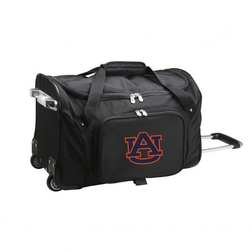 """Auburn Tigers 22"""" Rolling Duffle Bag"""