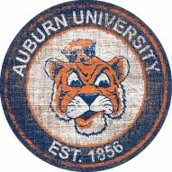 "Auburn Tigers 24"" Heritage Logo Round Sign"