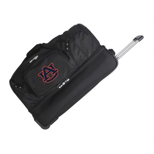 "Auburn Tigers 27"" Drop Bottom Wheeled Duffle Bag"