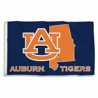 Auburn Tigers 3' x 5' State Outline Flag