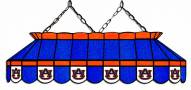"Auburn Tigers 40"" Stained Glass Pool Table Light"