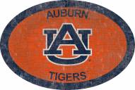 "Auburn Tigers 46"" Team Color Oval Sign"