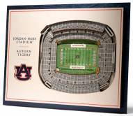 Auburn Tigers 5-Layer StadiumViews 3D Wall Art