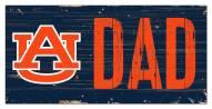 "Auburn Tigers 6"" x 12"" Dad Sign"